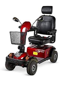 Silla con ruedas electrica comoda scooter electrico minusvalia minusvalidos: Amazon.es: Hogar