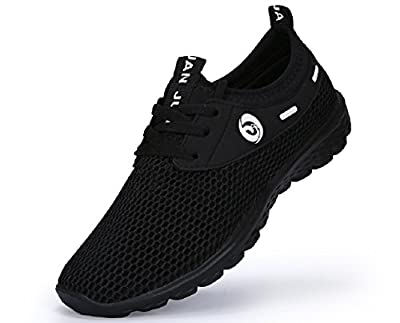 Juan Men's Lightweight Fashion Mesh Sneakers Breathable Athletic Outdoor Casual Sports Running Shoes