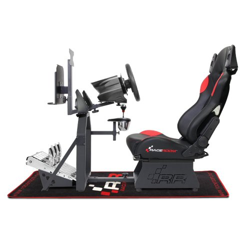 game Seat - Racing Game Chair - Game Sporting Goods Raceroom Rr3033 High End Racing Simulator