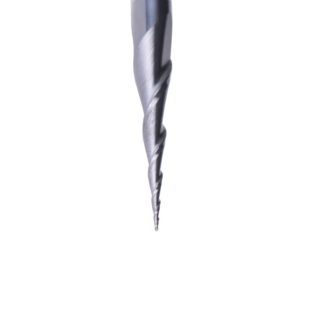 Pointe de gravure frais/ée pour machine-outil /à commande num/érique tige 6 mm radium 0 mm SpeTool