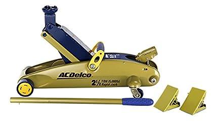 Acdelco 34602 2 1 2 Ton Capacity Rapid Floor Jack With Chocks