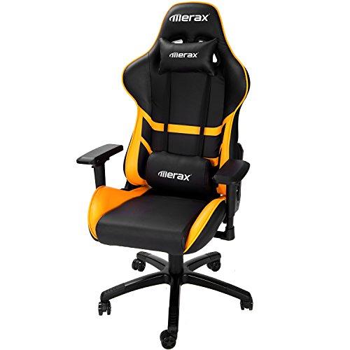 Merax High Back Computer Chair Ergonomic Design Racing Gamin