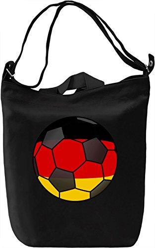Germany Football Borsa Giornaliera Canvas Canvas Day Bag| 100% Premium Cotton Canvas| DTG Printing|