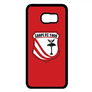 Carpi Football Club Logo Phone Case Cover For Samsung Galaxy S6 Edge Plus,Protective Black Hard Plastic Case For Samsung Galaxy S6 Edge Plus