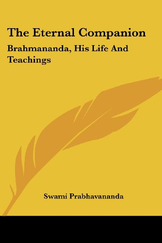 the eternal companion brahmananda his life and teachings 感想