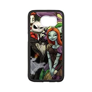 Samsung Galaxy s6 Black Cell Phone Case The Nightmare Before Christmas LWDZLW0018 3D Personalized Phone Case Cover