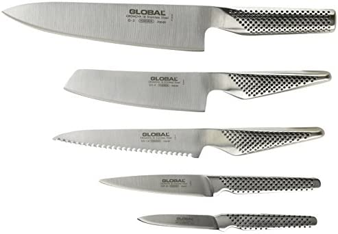Amazon.com: Global 6-Piece Block Set g-79586au: Kitchen & Dining