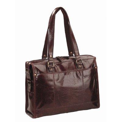 Bellino Leather Tote (Brown) (Bellino Leather Tote)