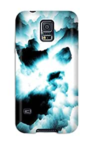 Fashionable VWOlINk5261xOcJU Galaxy S5 Case Cover For Black Artistic Protective Case