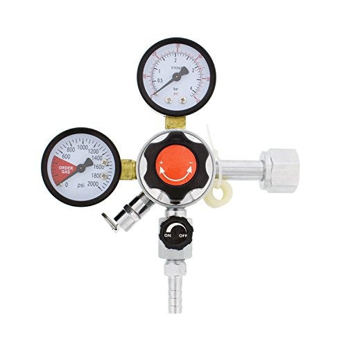 co2 regulator pressure gauge - 9