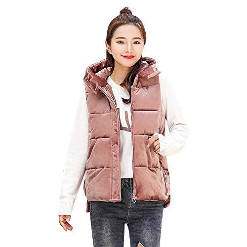 Faux Pink Caldo Donna Jacket A Inverno Cappuccio Cappotto Elegante Pelliccia Morwind Slim Gilet 2018 Vento Spessa Giacca Giubbotti zvxqq5Tw