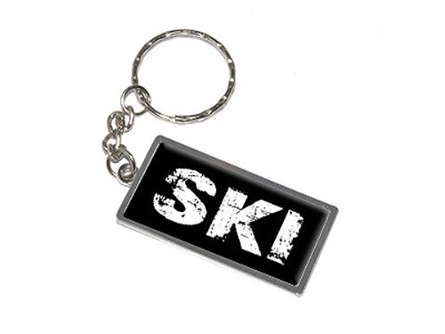 Ski–New Schlüsselanhänger Ring