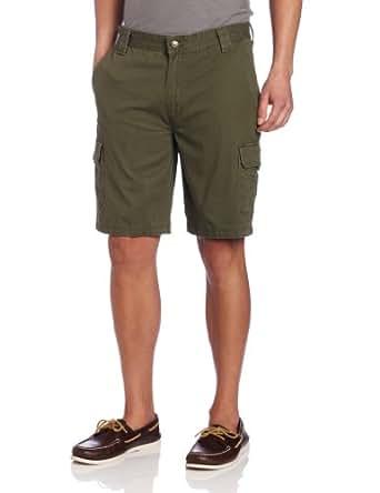Wolverine Men's Burke 6 Pocket Cargo Short, Field Green, 32x10