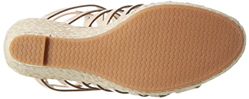 Another Pair of Shoes Wyatte1, Sandalias con Cuña para Mujer Beige (Nude98)