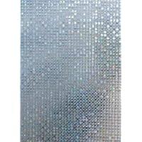 Arthome Película Decorativa de Vidrio 45CM x 200CM,Sin Pegamento Vinilo Pegatina de Ventanas,Proteger La Privacidad…