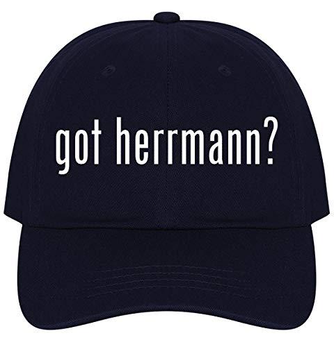 The Town Butler got Herrmann? - A Nice Comfortable Adjustable Dad Hat Cap, Navy ()