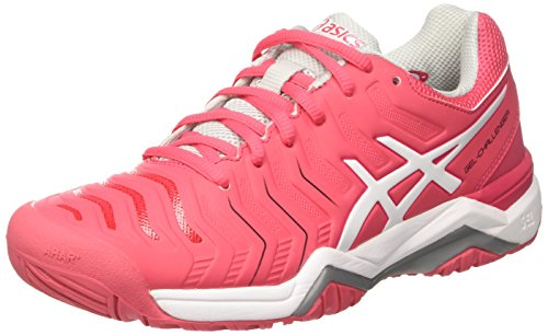 Gel Glacier Shoes Red Grey Rouge 11 Women's White Challenger Red Tennis Asics aZBqwq