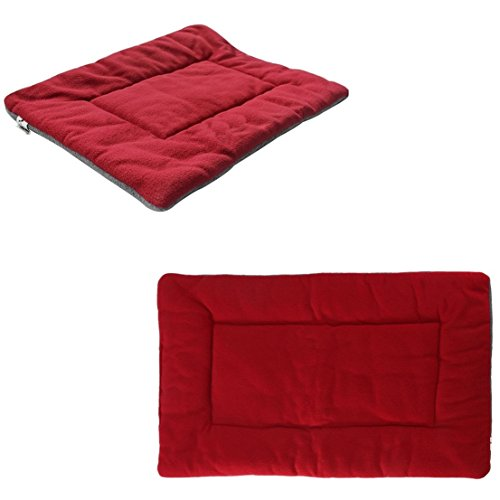 1Pcs Culmination Popular Pet Bed Sleep Mat Size XL Furniture Puppy Sofa Soft Pad Color Wine Red