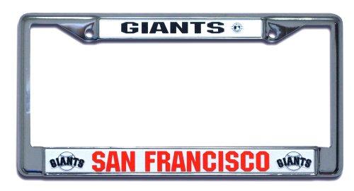 - San Francisco Giants Chrome License Plate Holder