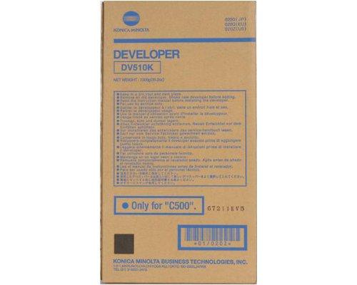 Konica-Minolta 0201 DV510M OEM Developer: Magenta Yields 100,000 Pages