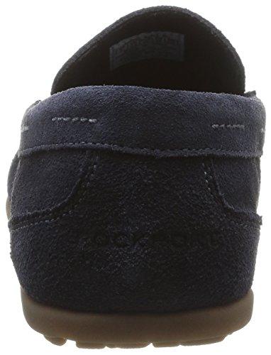 Rockport BL 3 VENETIAN - mocasines de cuero hombre Bleu (Navy Wsh Sde)