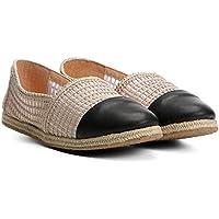 Espadrille Shoestock Flat Bordada Feminina