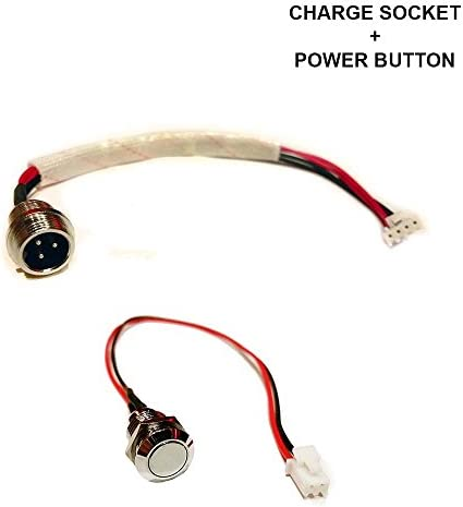 DOUILLES DE CHARGE DE HOVERBOARD ET BOUTONS DE PUISSANCE - Hover Board 2 Équilibre d'individu de roue d'équilibre Smart Swooter