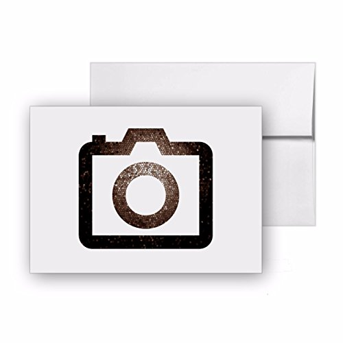 (Camera Photography, Blank Card Invitation Pack, 15 cards at 4x6, with White Envelopes, Item 569989)