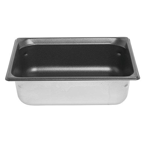 - Super Pan 3 Half Size S/S Pan w/ SteelCoat Non-Stick Interior, 6.3 Qt