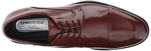 Oxford Kenneth Cole Cognac Men's York Design New 102812 cYS1rYPBwq