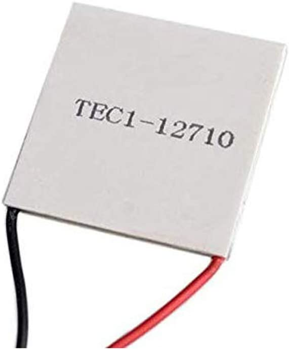 Lheng Semiconductor Refrigeration Tablets TEC1-12710 12V 10A Heatsink Thermoelectric Cooler Cooling Peltier Plate Module 40x40MM
