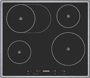 Siemens EI645EB11E hobs - Placa (Incorporado, indución eléctrica, Vidrio, 1.1m, 220 - 240V, 50 Hz) Negro