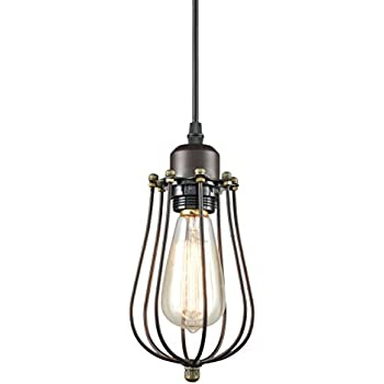CLAXY Ecopower Vintage Style Industrial Oil Rubbed Bronze Hanging ...