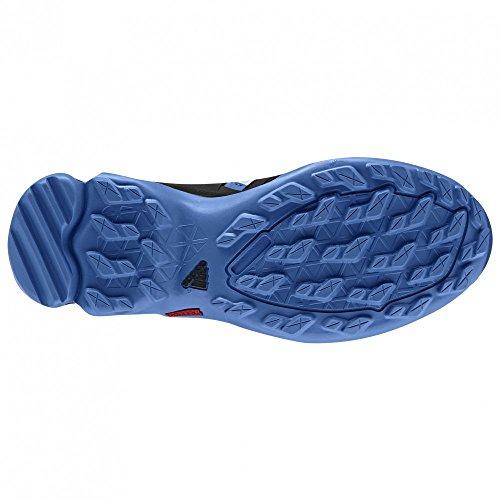 adidas Outdoor Terrex Swift R MID GTX de la mujer Ray Blue / Black / Ice Green