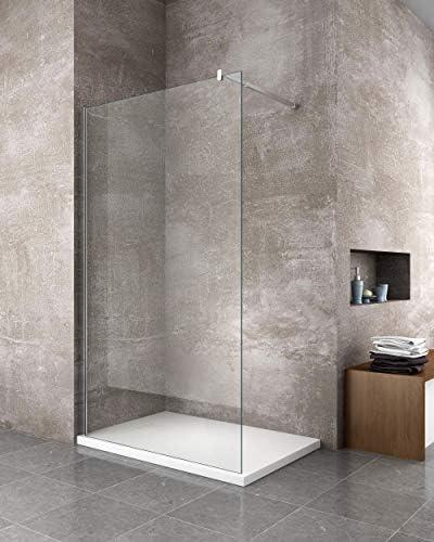 70 x 170 cm effet pierre ardoise Laneri Receveur de douche en r/ésine SMC avec bonde de douche gris