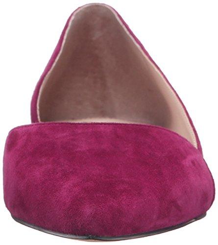 Marc Fisher Frauen SUNNY4 Ballerinas, flach dark Pink suede