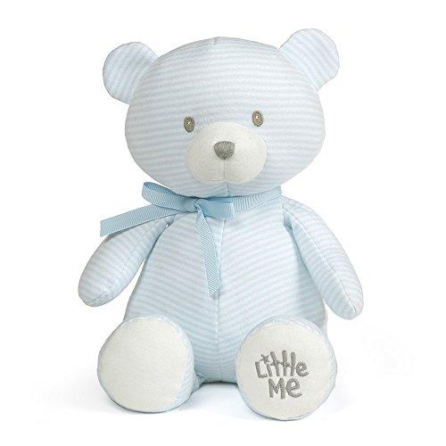 - Baby GUND x Little Me Striped Teddy Bear Stuffed Animal Plush, 10