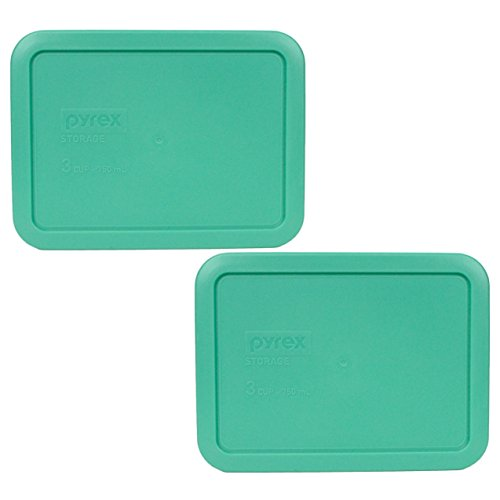 Pyrex 7210-PC Rectangle 3 Cup Storage Lid for Glass