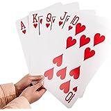 "Gameland Super Jumbo Playing Cards (Humongous 8-1/4"" x 11-3/4"" Cards)"