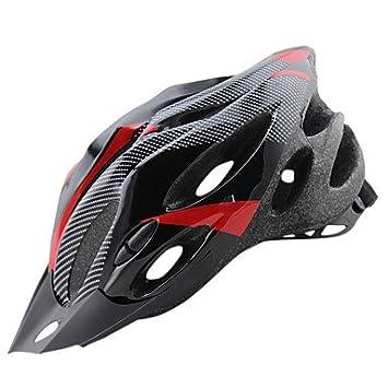 ftiier ligero de fibra de carbono de una pieza de seguridad para bicicleta casco extraíble gorro