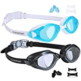 Best Goggles For Kids - EVERSPORT Swim Goggles, Pack of 2, Swimming Glasses Review