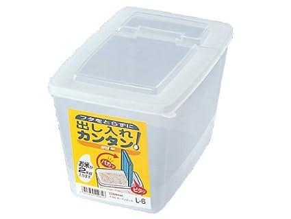 Amazoncom JapanBargain Japanese Rice Storage Container Kome Bitsu