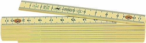 Metrica 19050 Glasfaser-Massstab 1 m, crème