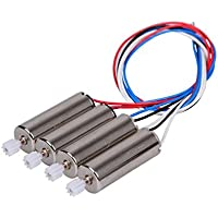 Qsmily® 4PCS Main Motor CW/CCW Spare Parts for Syma X5 X5C RC Quadcopter