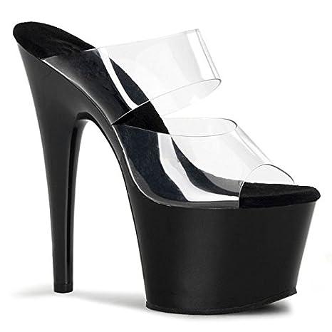 YMFIE Donna con tacco alto ciabatte sandali sexy temperamento fashion party di nozze banchetti tacchi,35…