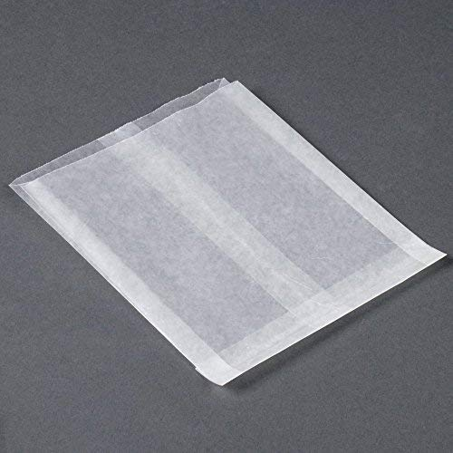 - 100 - Flat Glassine Wax Paper Bags - 5 1/2