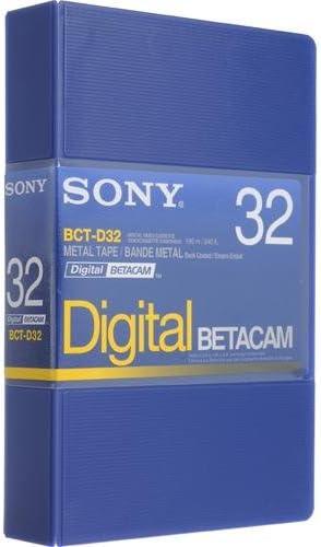 Sony BCT-D32 Digital Betacam 32 minute Tape