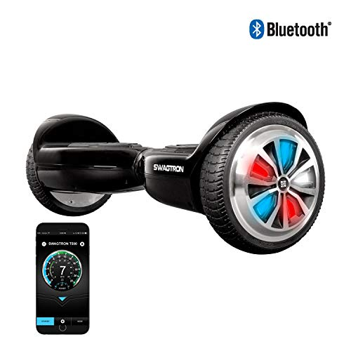 Swagtron T500 App-Enabled Bluetooth Hoverboard for...
