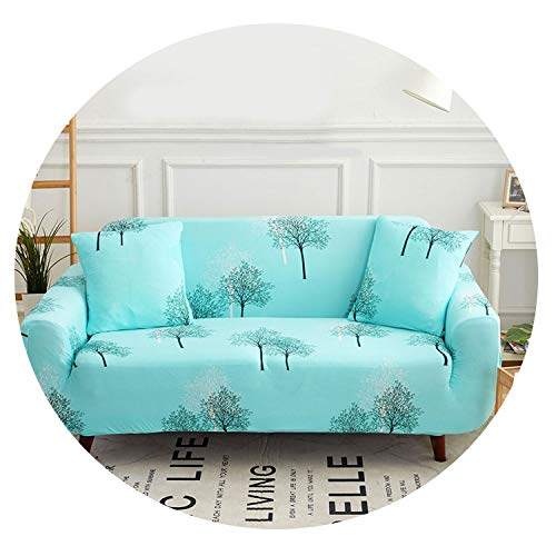 Floral Sofa Cover Slipcovers Elastic Stretch Tight Wrap All-Inclusive Sofa Couch Cover Towel Furniture Protector 1/2/3/4 Seater,Color 4,1-Seater 90-140cm (Dining Furniture Room London Ontario)