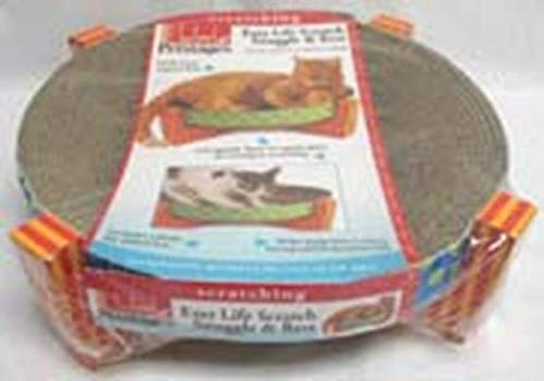 Petstages Easy Life Cat Scratcher and Hammock – Satisfies Kitty's Scratching Needs with Circular...